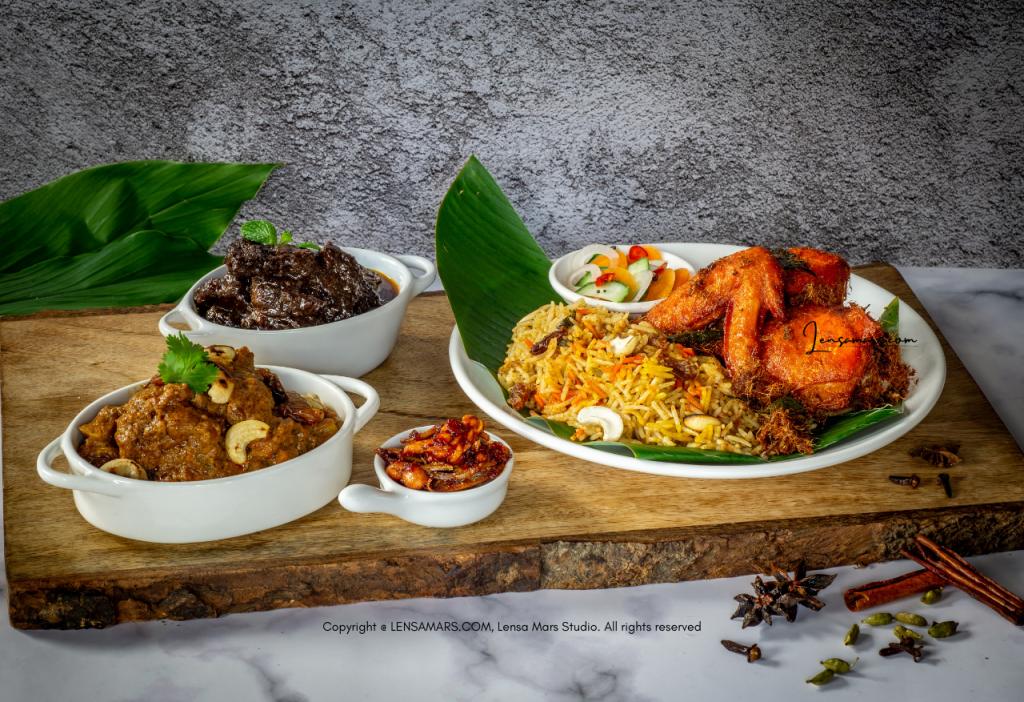 nasi biryani food photography
