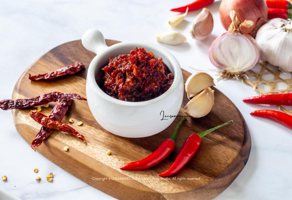 sambal food photography