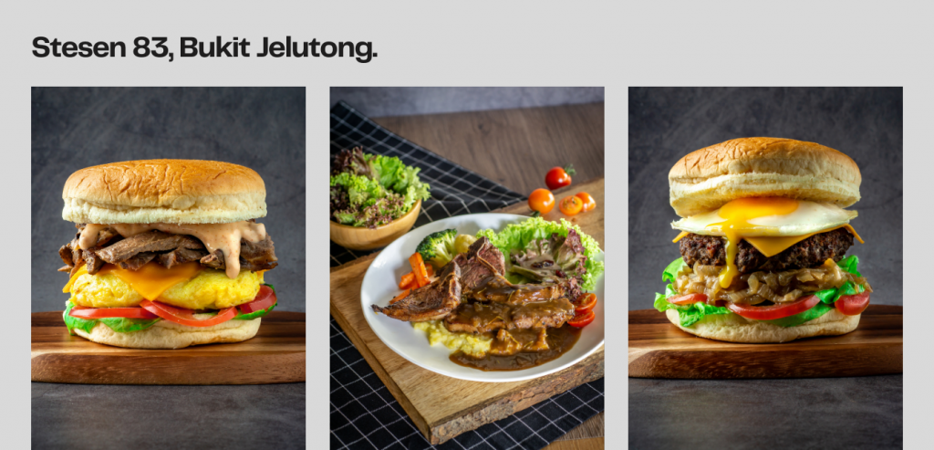 book menu food photography